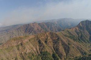 Mountain landscape in Bali