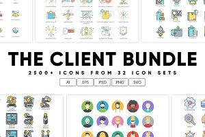 2,500+ Icons - The Client Bundle