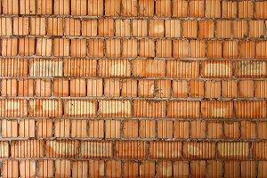 brickwork of walls