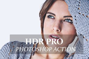HDR Pro - Photo shop Action