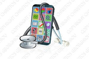Mobile Phone Medical Health App