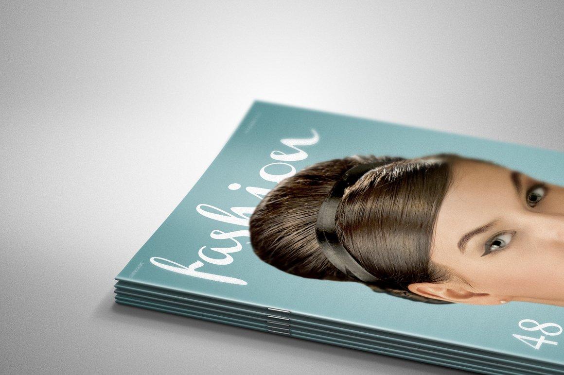 Pile Of Magazines Mock Up Print Mockups Creative Market