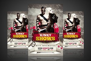 Kinky Shows - Flyer