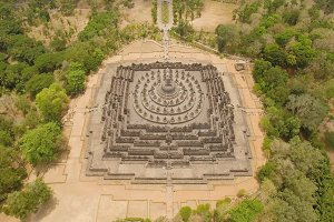 Borobudur Buddhist Temple