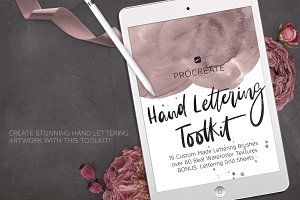 Procreate Hand Lettering Toolkit