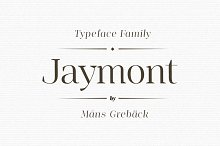 Jaymont - Ten style serif family by  in Serif Fonts