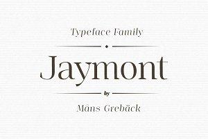 Jaymont - Ten style serif family