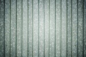 Texture of metal plate fence backgro