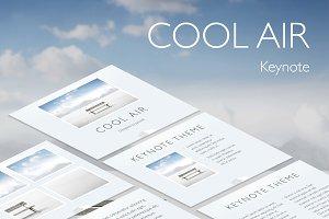 Cool Air Keynote Template