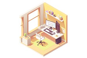 Isometric programmer workplace