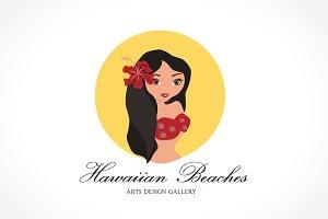 Hawaiian Beaches Girls Logo