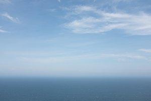 Sky Ocean Gradient Background
