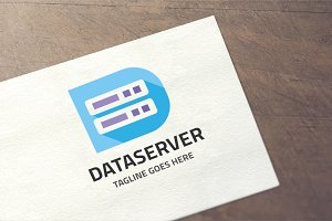 Letter D - Data Server Logo