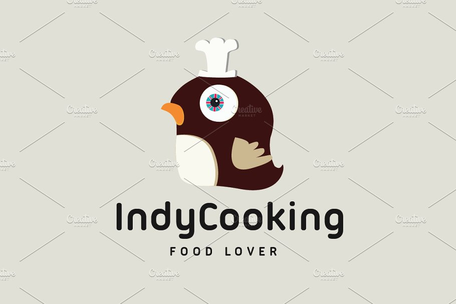 Indy Cooking in Logo Templates - product preview 8