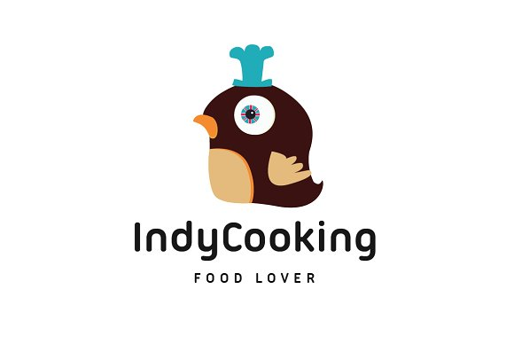 Indy Cooking in Logo Templates - product preview 1