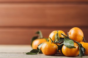 Juicy little tangerines