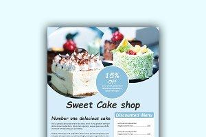 Cake Menu Design