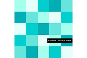 Trendy Turquoise 2019 Color Palette