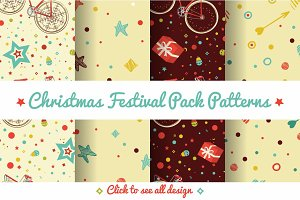 Festive Colorful Patterns Pack