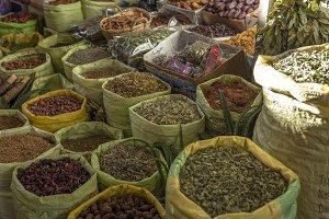 Fruit and vegetable street market