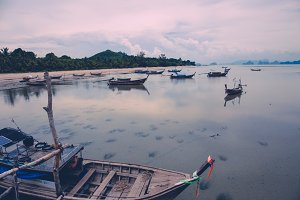 Boats, Koh Yao Yai, Thailand