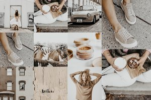 NUDE TONES LIGHTROOM PRESET