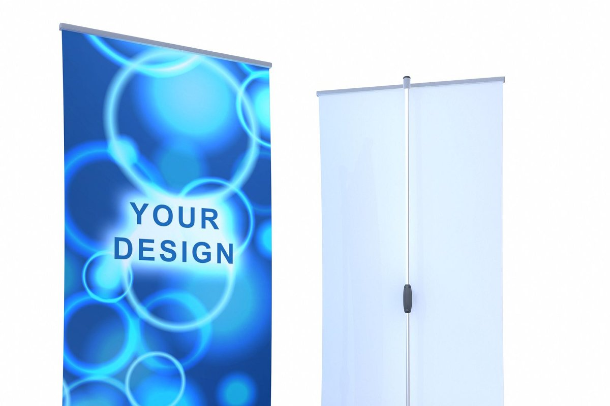 High quality model Roll-up banner di