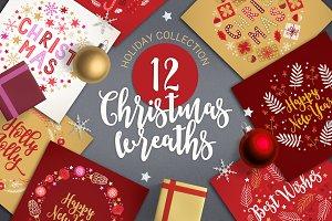 12 Christmas Wreaths