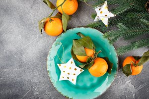 Tangerines - oranges, mandarins, cle