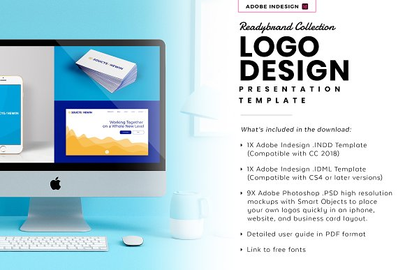 logo design presentation template presentation templates
