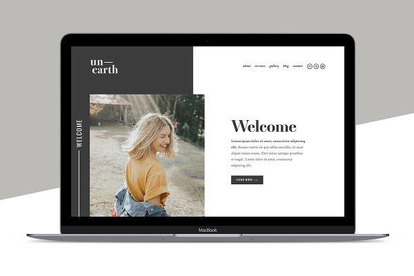Website Templates Creative Market