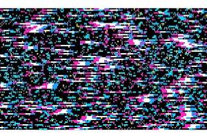 Glitch Texture pixel noise