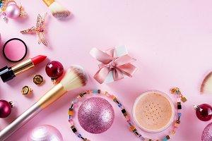 Festive make up