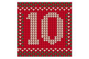 December 10: Cross-Stitch
