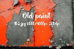 Old paint texture bundle