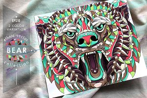 Ethnic Collection: Growling Bear
