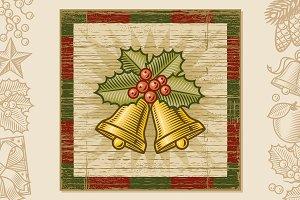 Retro Christmas Bells