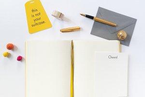 Blog Header Image with Planner