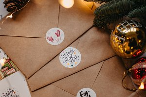 Christmas / New Year card envelopes