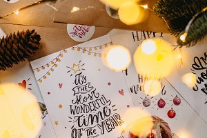 Christmas/New Year greeting cards
