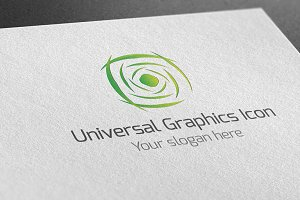 Universal Graphics Icon Logo