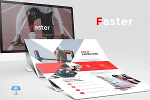 Faster - Keynote Template