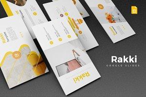Rakki - Google Slides Template
