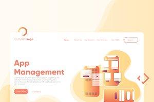 App Management - Banner & Landing