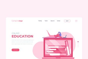 Education - Banner & Landing Page