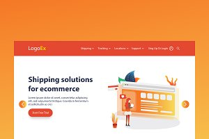 Shipping - Banner & Landing Page