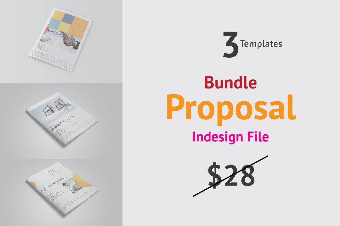 Web design proposal bundle magazine templates creative market maxwellsz