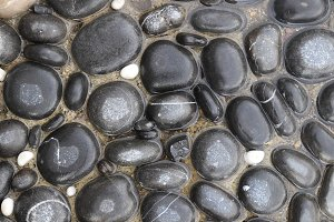 Black Sea pebble cobblestones