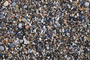 Sea stones surface