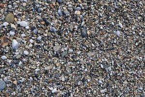 Sea little pebble texture